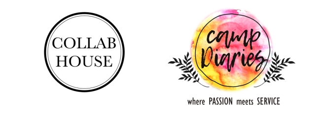 Collab House and Camp Diaries Logo