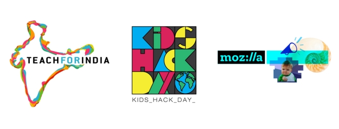 Mozilla Kids Hack Day Teach For India Logo